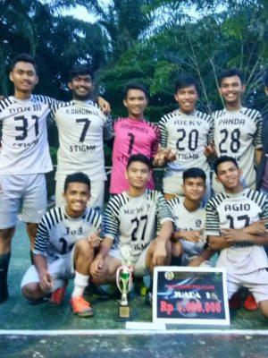 Juara Futsal Antar SMA oleh Fakultas Pertanian USU 2017