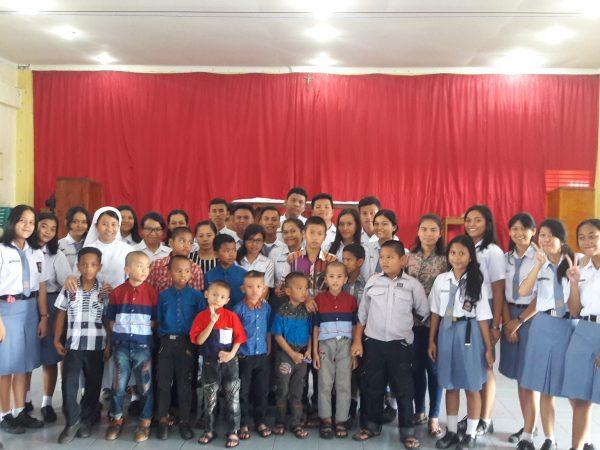Acara Paskah Bersama Anak-anak Panti Asuhan