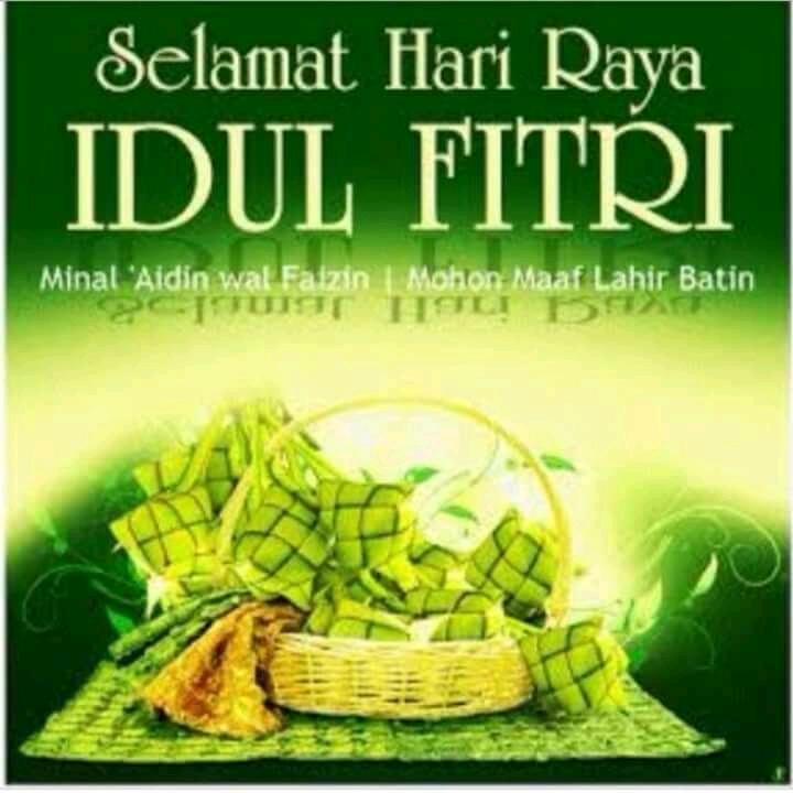 Selamat Hari *Raya Idul Fitri 1439 H*